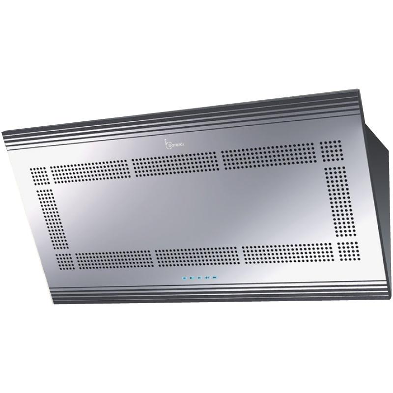Hota design Baraldi Nur 01NUR090STB70, 90 cm, 700 m3/h, inox