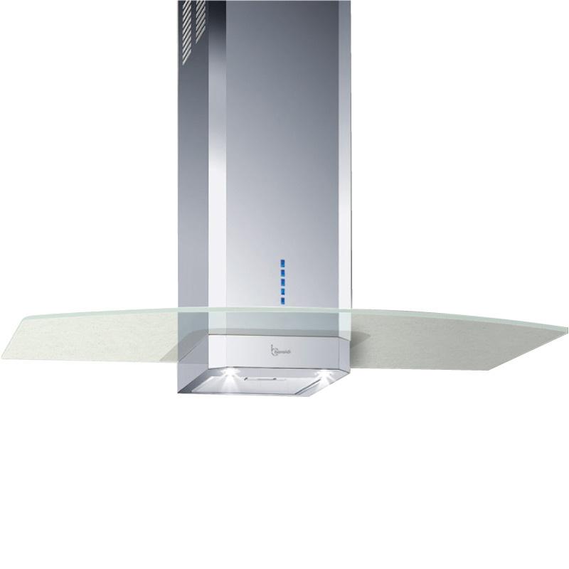 Hota design Baraldi Vanta 01VAN060SG90, 60 cm, 900 m3/h, sticla/inox