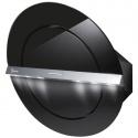 Hota design Baraldi Zen 01ZEN80BB70, 80 cm, 700 m3/h, sticla neagra/inox