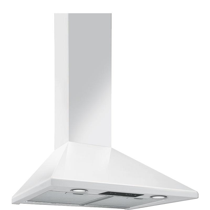 Hota decorativa Smeg Universal KSED65BE, 60 cm, 635 m3/h, alb