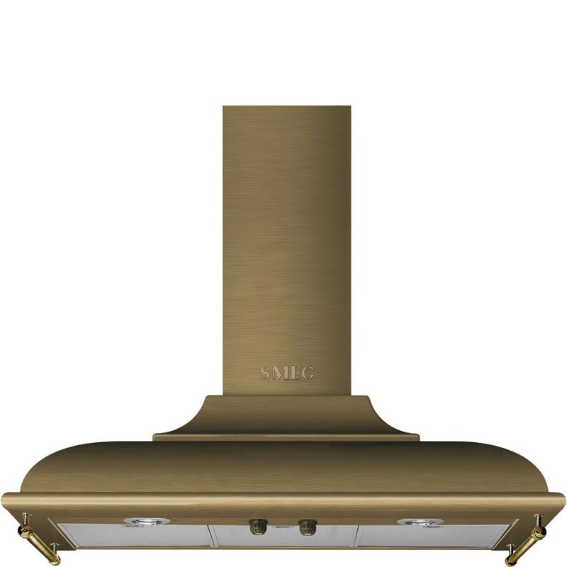 Hota decorativa Smeg Cortina KC19OTE, 90 cm, 794 m3/h, alama