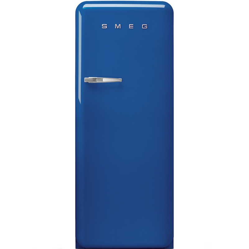 Frigider cu 1 usa SMEG FAB28RBL1, No Frost, Clasa A++, 222L, albastru