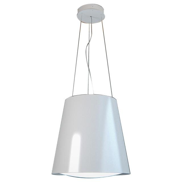 Hota insula SILT 28 LAMP, 48 cm, 550 m3/h, lumina ambientala, Alb
