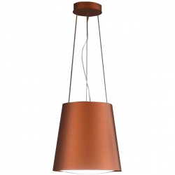 Hota insula Sirius SILT 28 LAMP, 48 cm, 550 m3/h, lumina ambientala, Cupru
