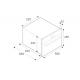 Cuptor incorporabil pe abur Bertazzoni Profesional F45PROCSTX, 60x45cm, 31l, grill electric, convectie, inox