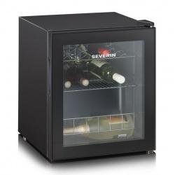 Vitrina de bauturi Severin KS9889,A ,capacitate:15 sticle,dezghetare,negru
