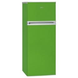Frigider cu 2 usi BOMANN DT349, Clasa A++, 212L, verde