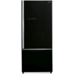 Combina frigorifica Hitachi R-B570PRU7(GS), 444L, Clasa A+, No frost, Argintiu Glass