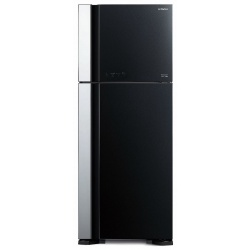 Frigider 2 usi Hitachi R-V540PRU7(BBK), No Frost, A++, 519L, inaltime 183,5 cm, negru