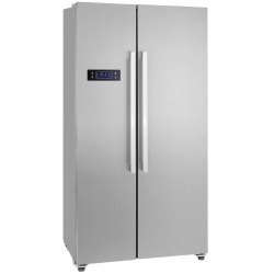 Side by Side Exquisit SBS130-4A,Clasa A+ 429L No Frost Inox
