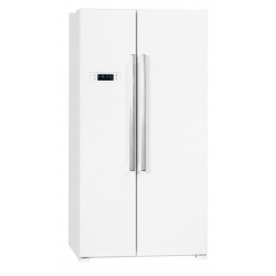 Side by Side Exquisit SBS 550-4 A ++ Clasa A++ 514L No Frost Twist Ice Maker Alb