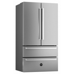 Side by side Bertazzoni Profesional REF90X, Clasa A+, 532 litri, Latime 91 cm, total No Frost, inox