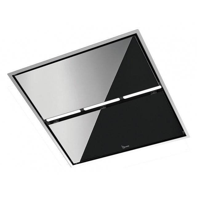 Hota de tavan incorporabila Baraldi Jet 01JET90STW flat box900, 90 cm, 900m3/h, inox / sticla alba