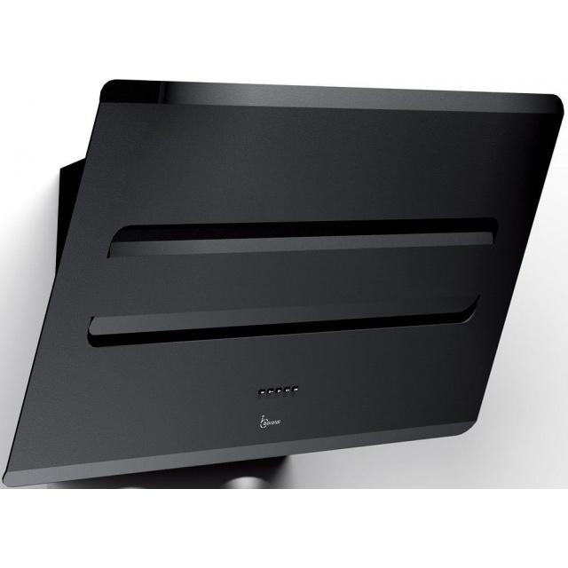 Hota design Baraldi Blacky 01BLA090BL90, 90 cm, 900 m3/h, inox / negru
