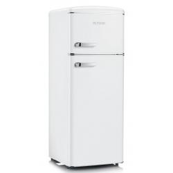 Frigider cu 2 usi Severin Retro RKG 8935, Clasa A++, 172 KWh/an, 210L, alb