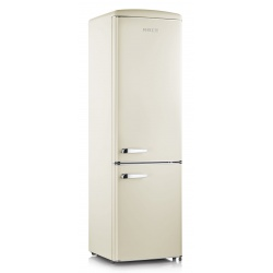 Combina frigorifica Severin Retro RKG 8923, Clasa A++, 188 KWh/an, 255L, crem