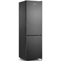 Combina frigorifica Severin KGK 8914, Clasa A++, 201 KWh/an, 252 L, Total No Frost, inox negru