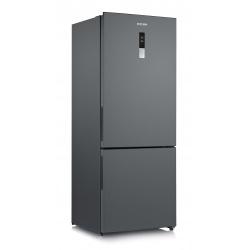 Combina frigorifica Severin KGK 8956, Clasa A++, 284 KWh/an, 432 L, Total No Frost, inverter, inox negru