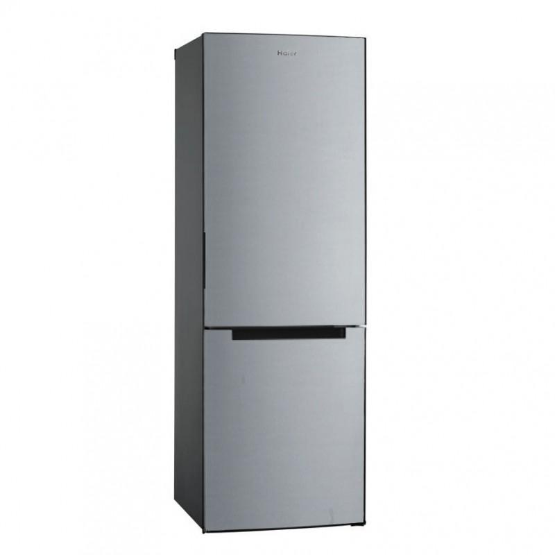 Combina frigorifica Haier HBM-687S, 312 l, Clasa A++, H 185 cm, Inox