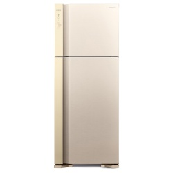 Frigider 2 usi Hitachi R-V540PRU7(BEG), No Frost, A++, 489L, inaltime 183,5 cm, bej