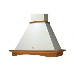 Hota rustica decorativa Baraldi Tosca 01TOS060WH80NT, 60 cm, 800 m3/h, alb retro