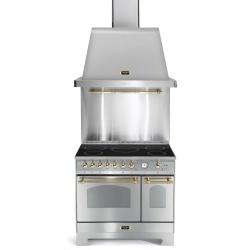 Aragaz Lofra RBI66MFT/CI, 60x60 cm, gaz, 4 arzatoare, grill, aprindere electronica, timer, crem