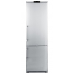 Congelator profesional Liebherr GCv 4060, 345 l, cu racire dinamica, 2 usi, Argintiu