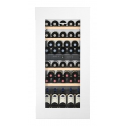 Vitrina vinuri frigorifica incorporabila Liebherr EWTgw 2383, 169L, 2 zone temperatura, clasa A, Alb