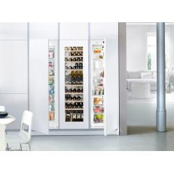 Side by side incorporabil Liebherr SBSWgw 99I5 No Frost, compartiment vinuri, 4 zone temperatura, 785 L, clasa A++/A/A+++