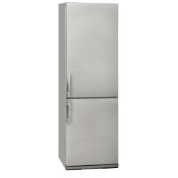 Combina frigorifica Exquisit KGC 34.2 A +++ STG Inoxlook, Clasa A+++, 302 L, No Frost, Inox