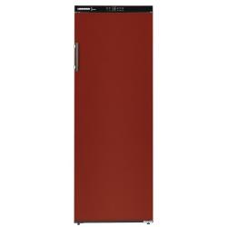 Vitrina vinuri Liebherr WKr 4211, 409 l, capacitate 200 sticle, clasa A++, usa plina, H 165 cm, rosu