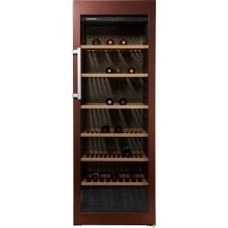 Vitrina vinuri Liebherr WKt 5552 GrandCru, 525 l, capacitate 253 sticle, Clasa A+, H 192 cm, maro