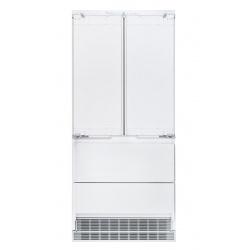 Combina frigorifica incorporabila Liebherr ECBN 6256 Premium, 471 l, NoFrost, IceMker, Clasa A++, H 203 cm, alb
