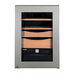 Humidor trabucuri Liebherr Premium ZKes 453, 39 l, Touch Display, suport sticle, H 61.2 cm, temperatura 16-18°C, Argintiu