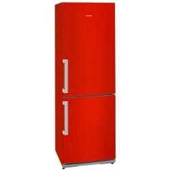 Combina frigorifica Exquisit KGC 35.2 A++STG Rot, clasa energetica A++, volum net 298 L, No Frost, Rosu