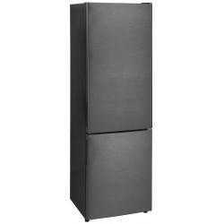 Combina frigorifica Exquisit KGC 265/50-5 NFA++Inoxlook-dunkel, clasa A++, volum 250 L, No Frost, Inox Inchis