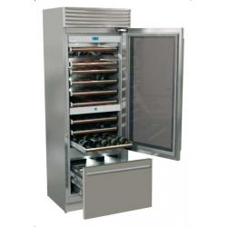 Vitrina frigorifica vinuri, Fhiaba X-Pro70 XG7491TWT3, NoFrost,clasa A+, 267 l, inox