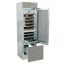 Vitrina frigorifica vinuri, Fhiaba X-Pro70 XG5991TWT3, clasa A+, 219 l, inox