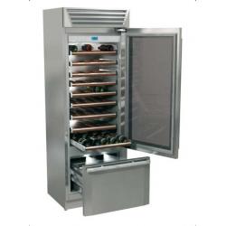 Vitrina frigorifica vinuri, Fhiaba StandPlus70 MG7490TWT3, clasa A+, 267 l, inox