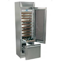 Vitrina frigorifica vinuri, Fhiaba StandPlus60 MI5990TWT3, 2 zone temperatura,clasa A+, 121 l, inox