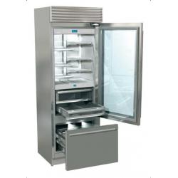 Combina frigorifica Fhiaba XG7491TGT3 X-Pro70, usa cu geam, clasa A++, 445l, inox