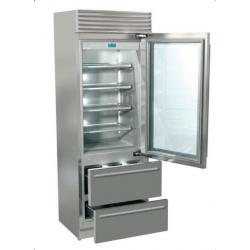 Combina frigorifica Fhiaba XG7490HGT3 X-Pro70, usa din sticla, clasa A++, 467l, inox