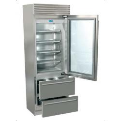 Combina frigorifica Fhiaba XI7490HGT3 X-Pro60, usa din sticla, No Frost, 2 zone temperatura, clasa A+, 370l, inox