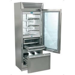 Combina frigorifica Fhiaba MG7491TGT3 StandPlus70, usa din sticla, 3 zone temperatura, clasa A++, 445 l, usa sticla, inox