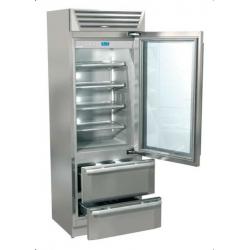 Combina frigorifica Fhiaba MG7490HGT3 StandPlus70, usa din sticla, 2 zone temperatura, clasa A++, 467 l, inox