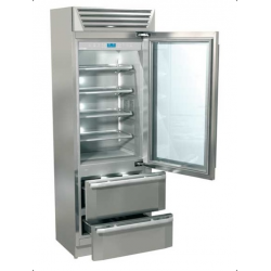 Combina frigorifica Fhiaba MI7490HGT3 StandPlus70, 2 zone temperatura, usa din sticla, clasa A+, 370 l, inox