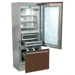 Combina frigorifica incorporabila Fhiaba G7491TGT3 Integrated70, usa sticla, clasa A++, 445 l, inox