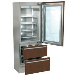Combina frigorifica incorporabila Fhiaba G7490HGT3 Integrated70, 2 zone temperatura, clasa A++, 467 l, inox