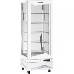 Vitrina frigorifica de cofetarie Tecfrigo MARILYN 450 Q WHITE, Capacitate 450 L, 1 zona temperatura +4° C /+10° C, Alb