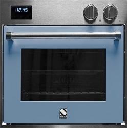 Cuptor electric incorporabil STEEL GENESI, 60cm, 70l, 9 functii de gatire, grill electric, convectie, rotisor, albastru